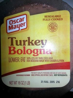 Turkey Bologna - Produit