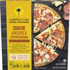 Crispy thin crust signature pepperoni frozen pizza - Product