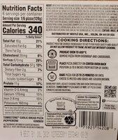 Garlic Bread Pepperoni Pizza - Nutrition facts - en