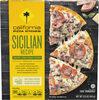 Crispy thin crust sicilian recipe frozen pizza - Product