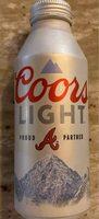 Coors Light Beer - Prodotto - en
