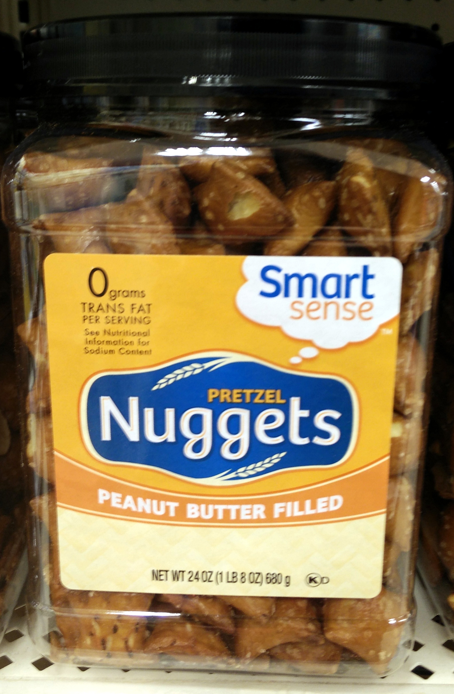 Smart sense, pretzel nuggets, peanut butter filled - Produit - en