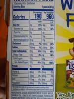 Chocolate chip muffins, chocolate chip - Nutrition facts - en