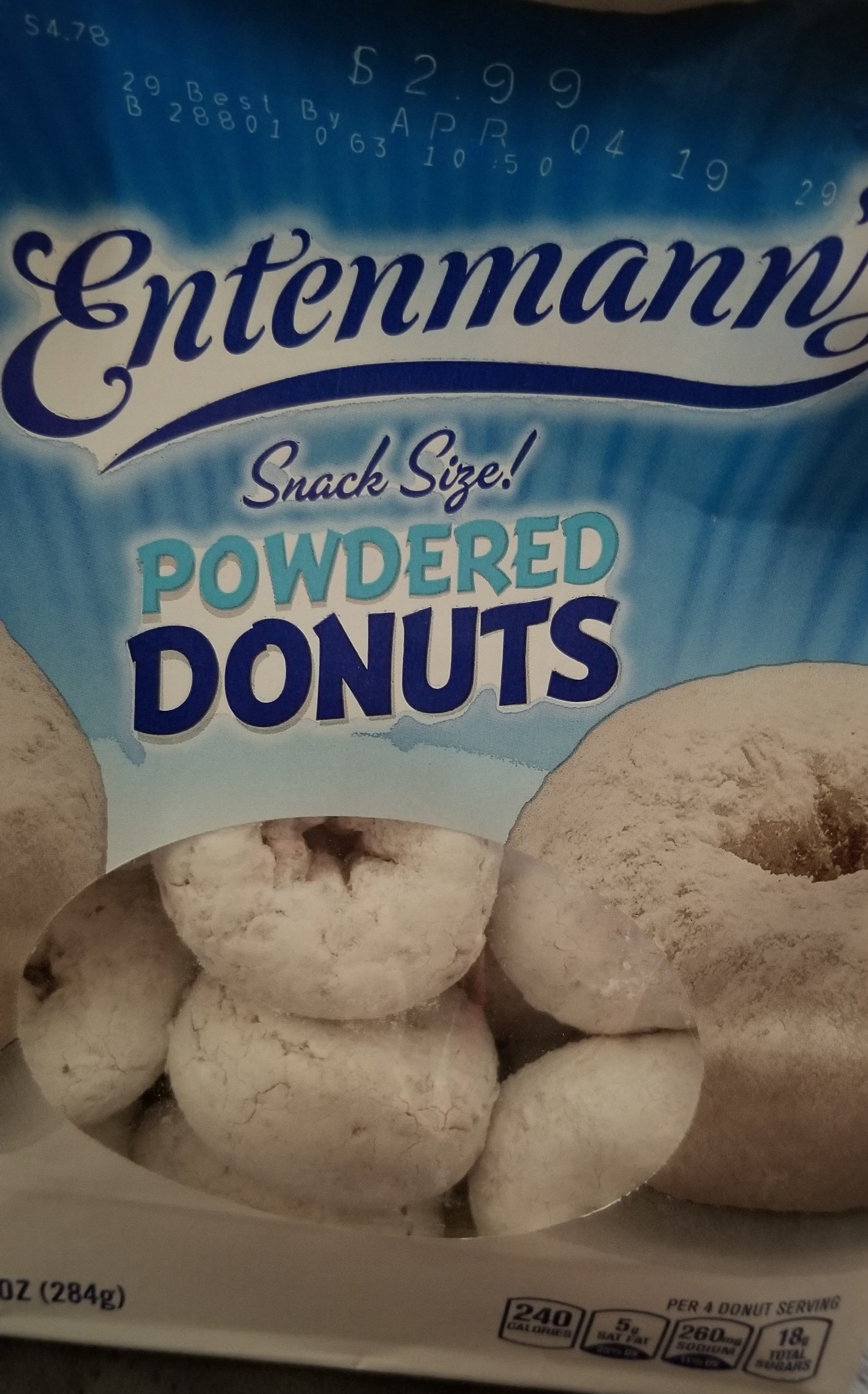 Powdered Donuts - Product