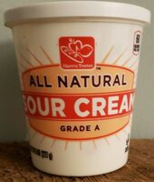 All Natural Sour Cream Grade A - Product - en