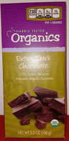 Harris teeter organics extra dark chocolate - Product - en
