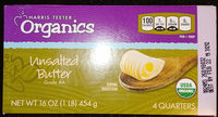 unsalted butter organics - Product
