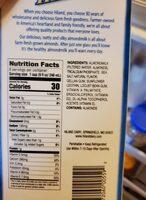 HILAND VANILLA ALMOND MILK - Ingredients - en