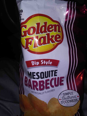 Golden flake mesquite barbecue chips - Product