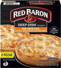 Deep dish singles four cheese pizza - Produit