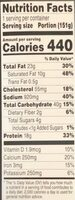 Pizza melt pepperoni - Nutrition facts - en