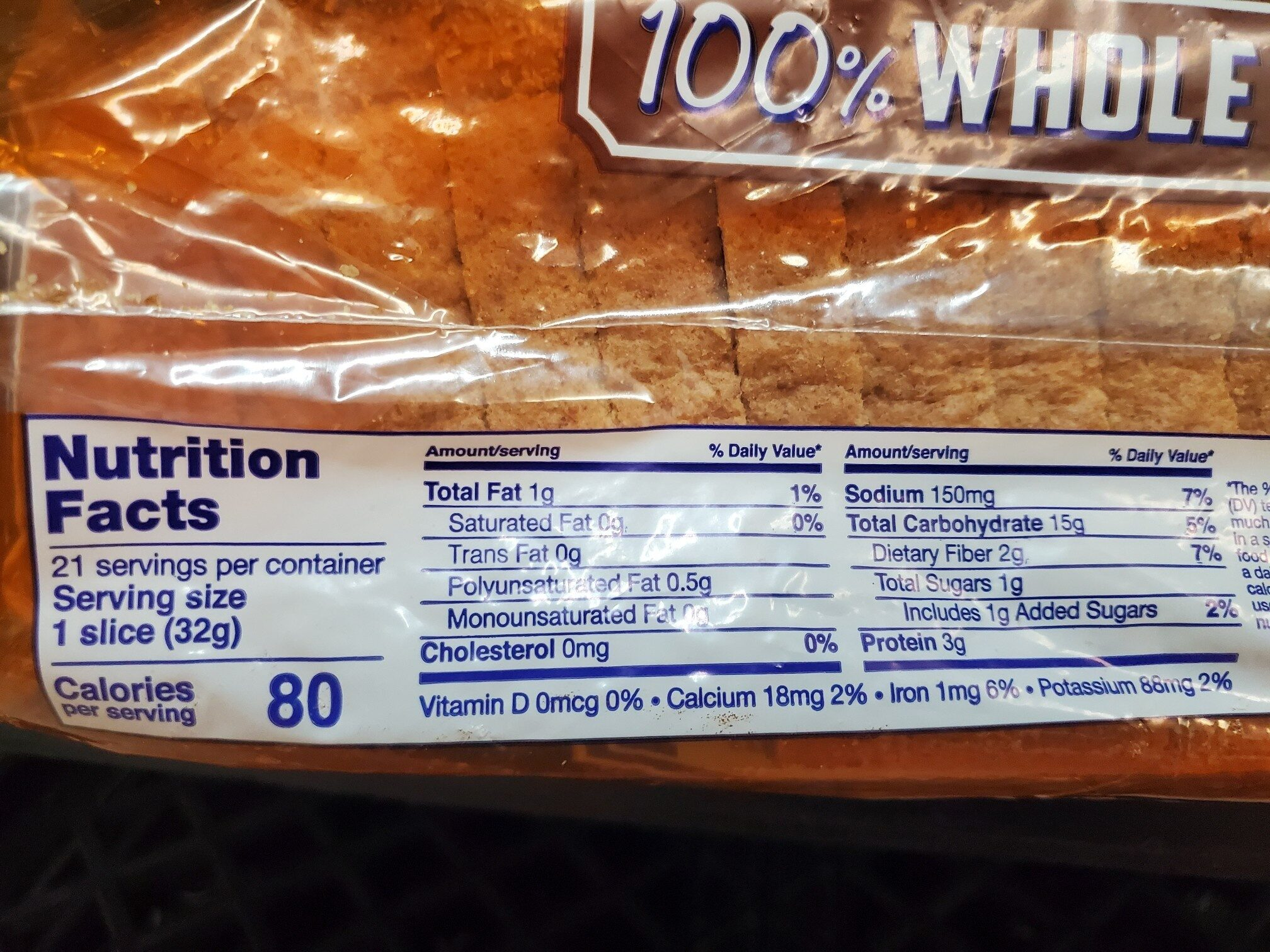100% whole wheat - Ingredients - en