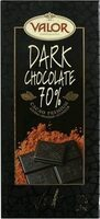 Intense Dark Chocolate - 70% cacao - Product - en