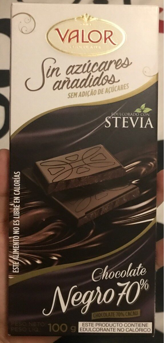 Chocolate negro sin azucar - Product