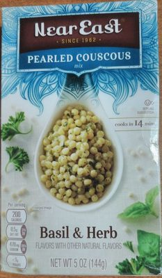 Basil & Herb (Pearled Couscous) - Product - en