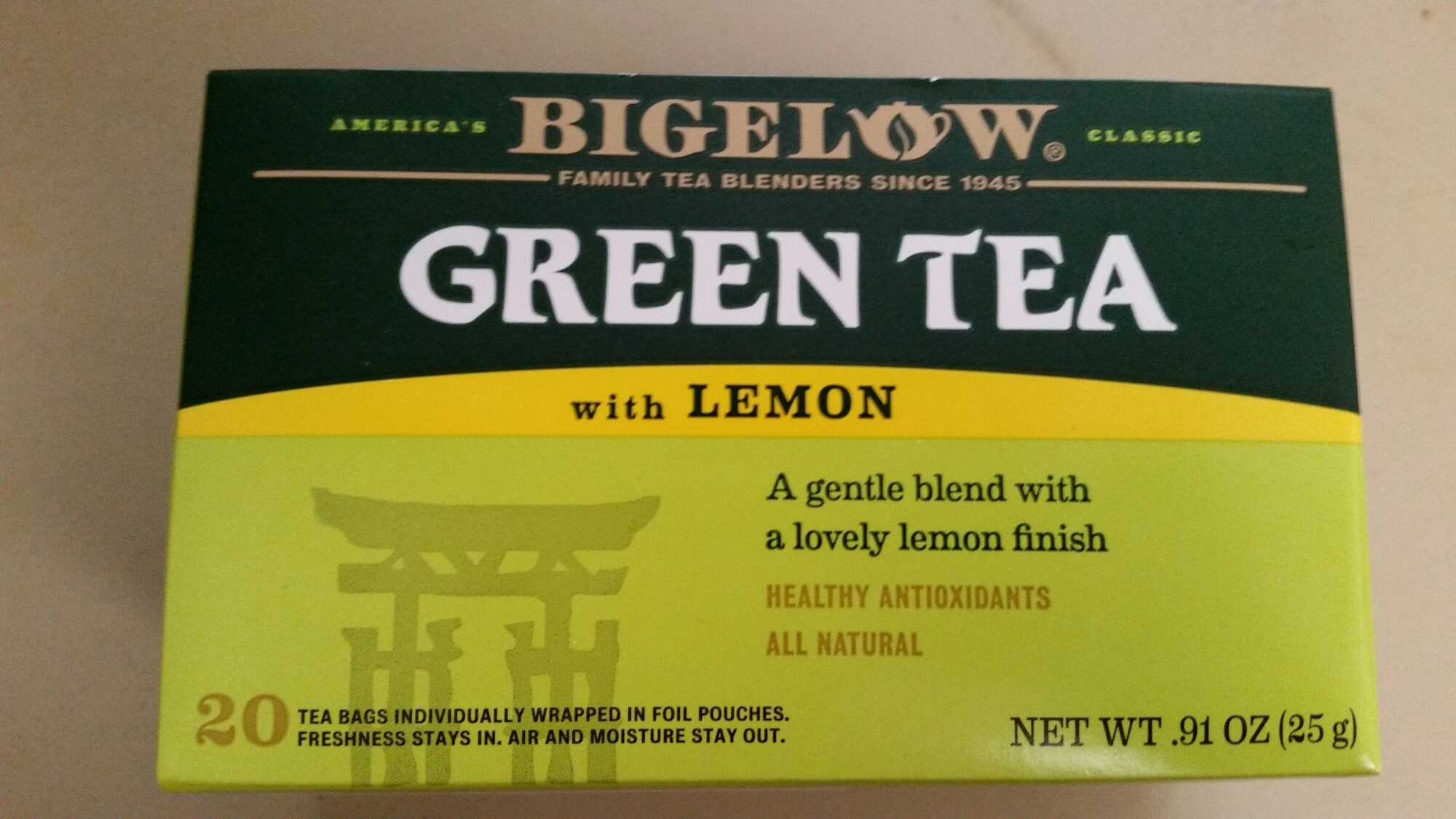 Green Tea with LEMON - Product