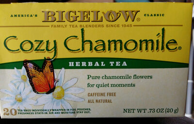 Cozy Chamomile herbal tea - Product