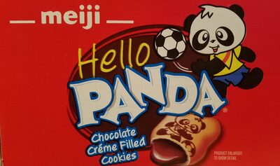Hello Panda Chocolate Creme Filled Cookies - Product