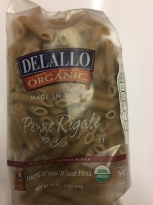 Delallo Organic Penne Rigate Made - Product