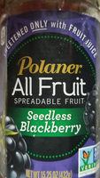 All Fruit, Spreadable Fruit, Seedless Blackberry - Product