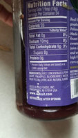 All Fruit, Spreadable Fruit, Seedless Blackberry - Nutrition facts