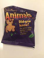 Cadbury Animals Chocolate Biscuits - Produit