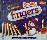 Cadbury Snowy Fingers - Produit