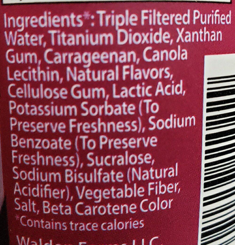 Flavored coffee creamer - Ingredienti - en