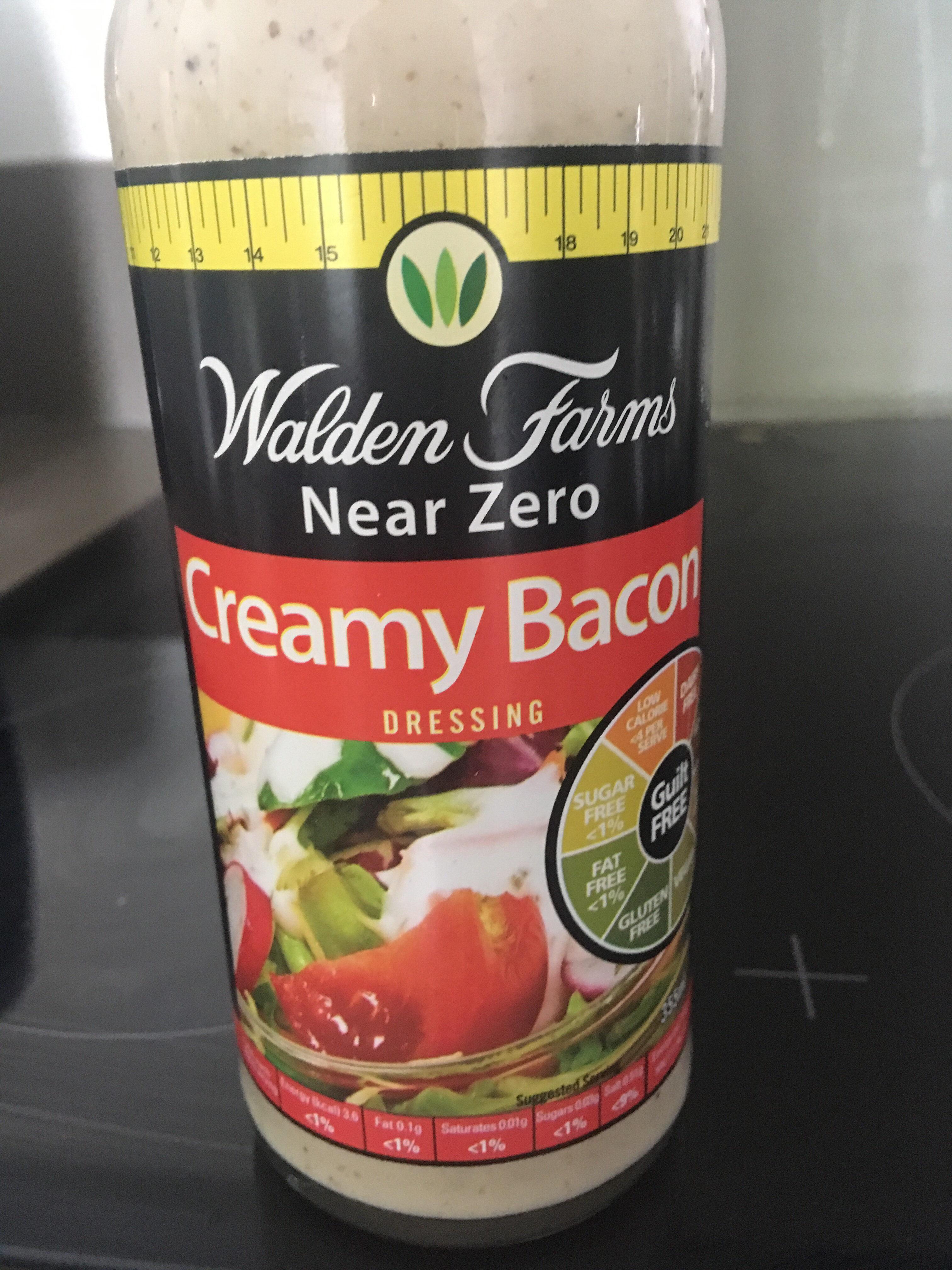 Walden farms, calorie free creamy bacon dressing - Product - en
