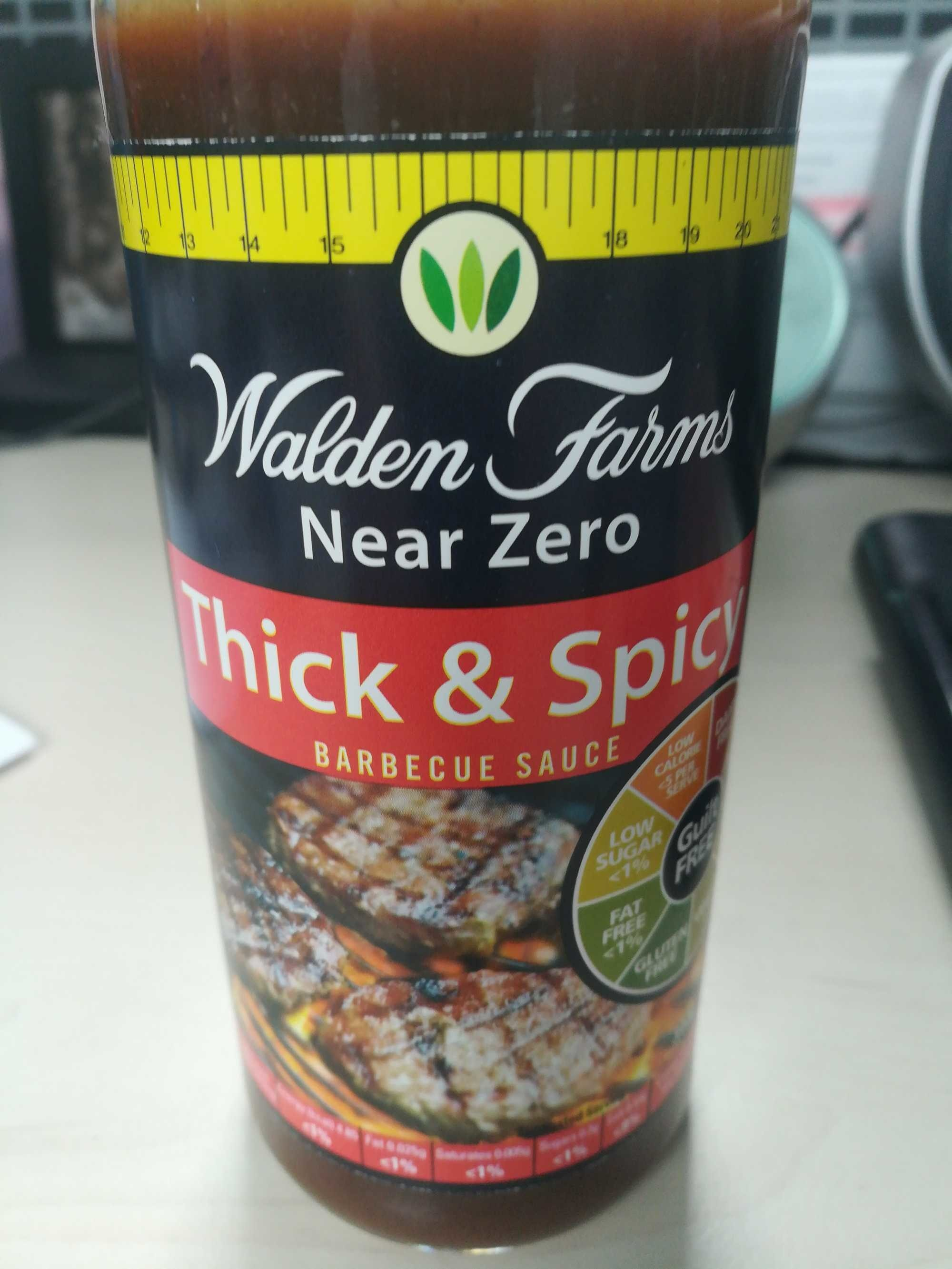 Thick & spicy barbecue sauce - Product - en