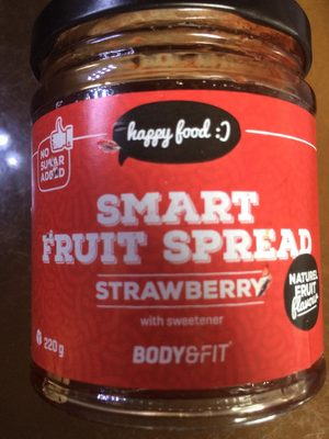 Strawberry fruit spread - Product - en