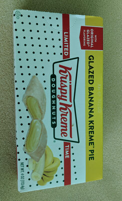 Glazed Banana Pie - Product