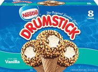Drumstick vanilla ice cream cone - Product - en