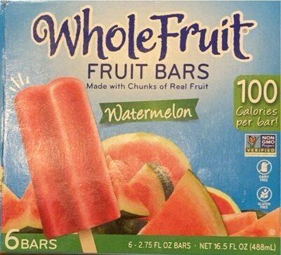 Whole fruit watermelon fruit bars - Product - en