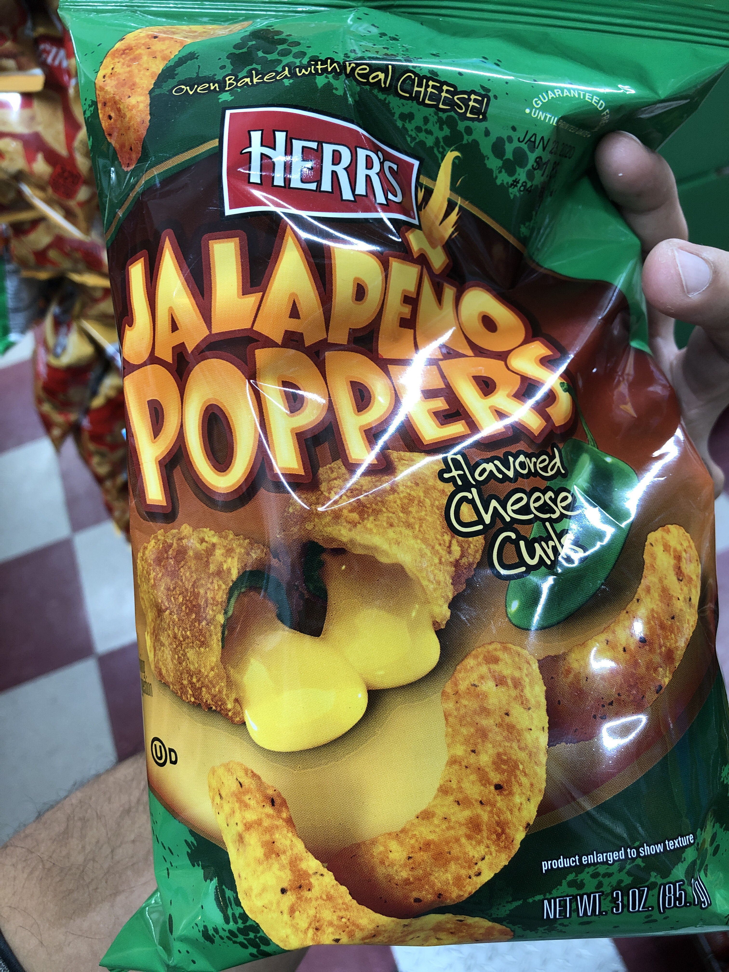 Jalapeno poppers flavored cheese curls, jalapeno poppers - Product - en