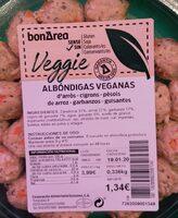 Albóndigas veganas - Product