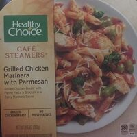Grilled chicken marinara with Parmesan - Product