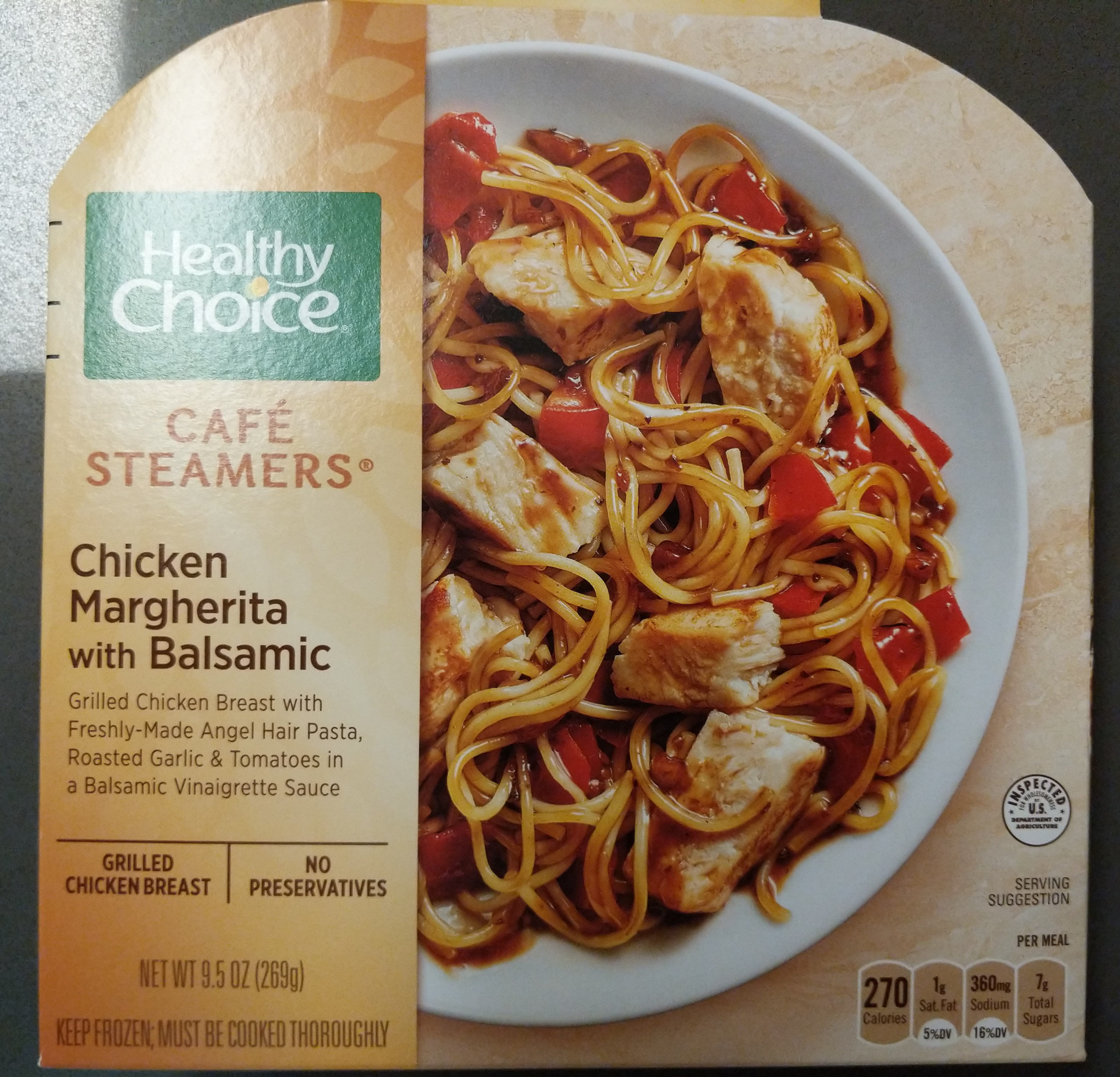 Cafe Steamers - Chicken Margherita with Balsamic - Product