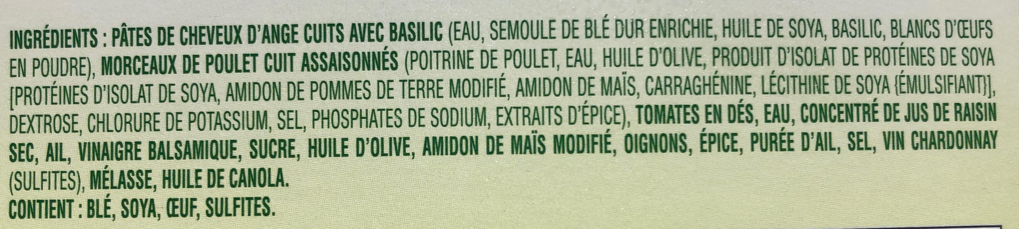 Healthy - Ingrédients - fr