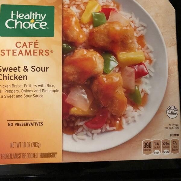 HEALTHY CHOICE Cafe Steamers Sweet And Sour Chicken, 10 OZ - Product - en