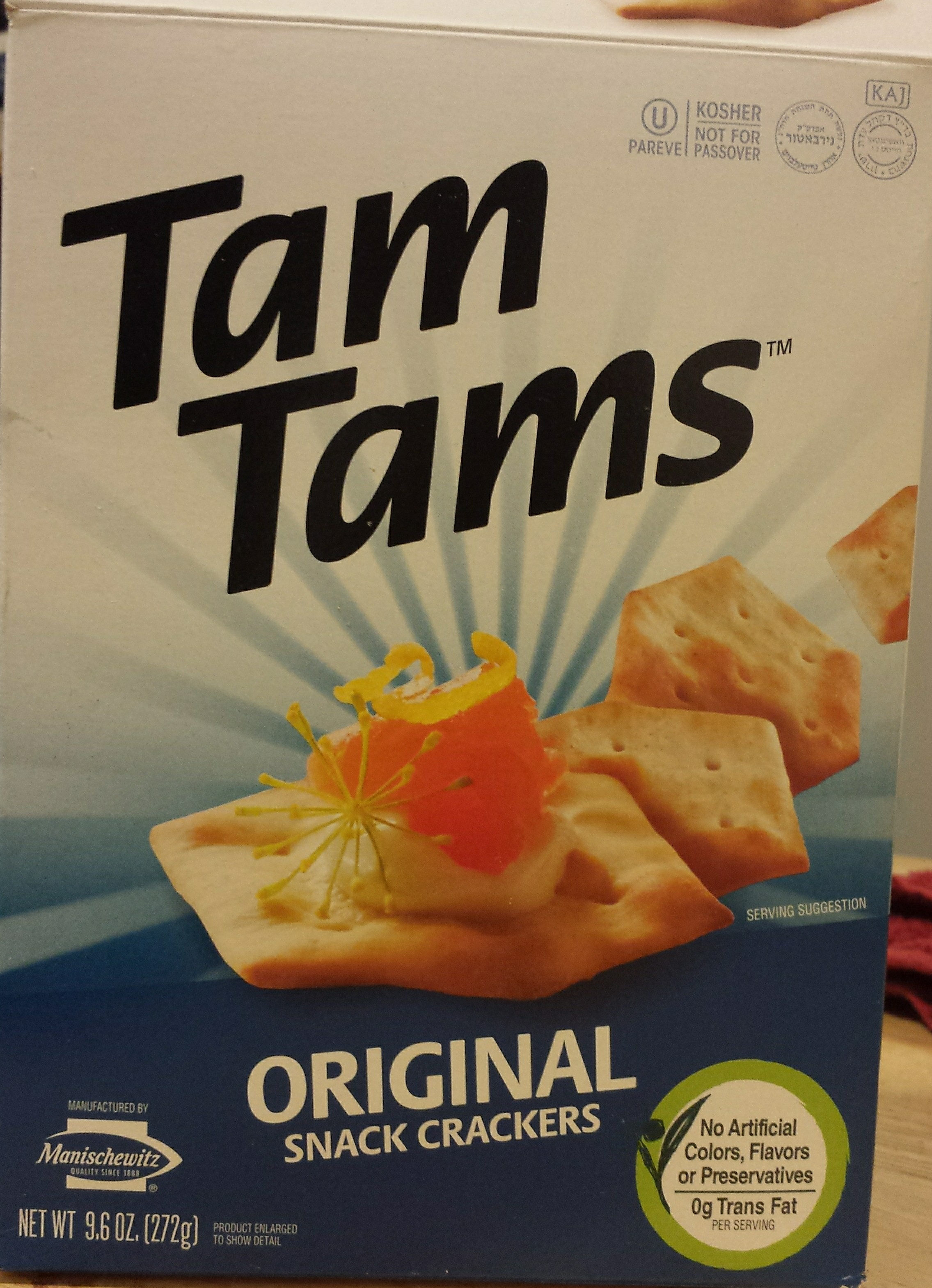 Tam Tams™ Original Snack Crackers - Product