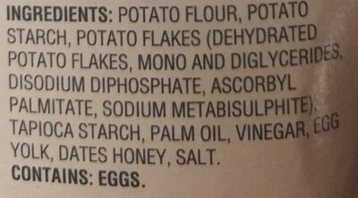 Matzo-style squares - Ingredients - en