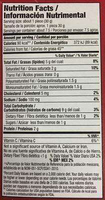 Jalapeños con queso crema, Mc Cain - Voedingswaarden - es