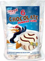 Chocolate sundae ice cream cups - Produit - en