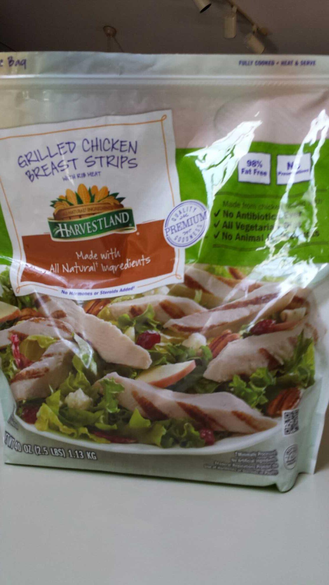 Harvestland Grilled Chicken Breast Strips - Produit