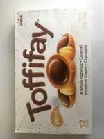 Caramel hazelnut cream chocolate - Produit - en