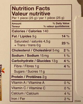 Noisettes Amandes - Nutrition facts - en