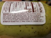 Guacamole Salsa - Ingredients - en