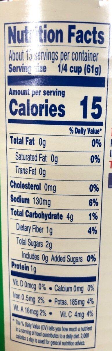 Tuttorosso - Nutrition facts