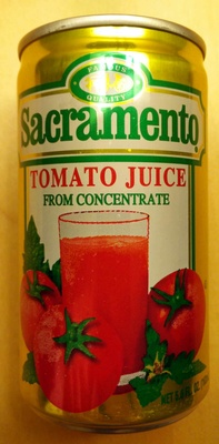 Tomato Juice from Concentrate - Product